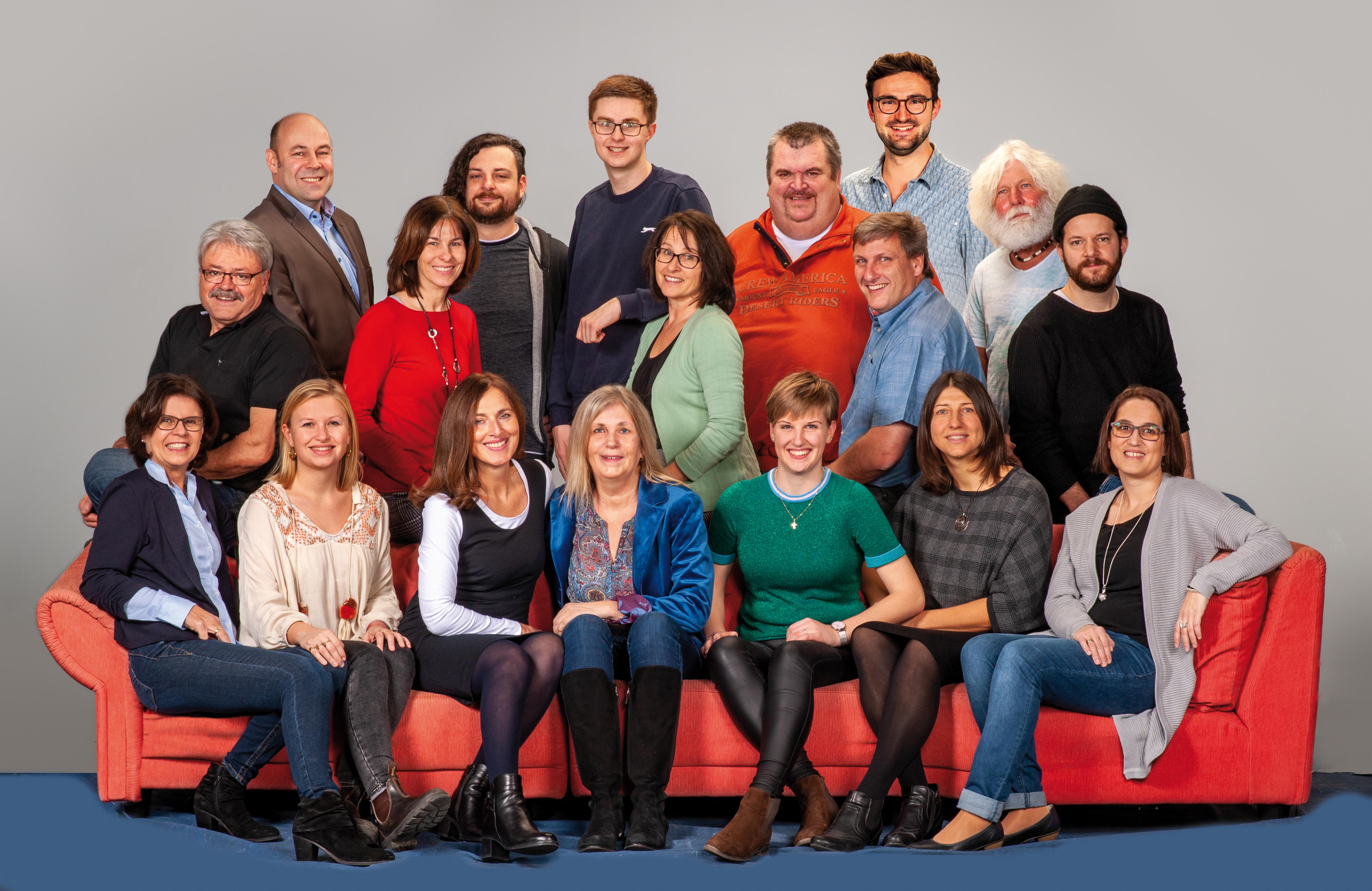 Die Kandidaten der SPD-Parteifreien Wörth-Hörlkofen für die anstehende Gemeinderatswahl
